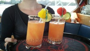 Drinks aboard